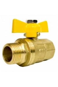Кран шаровой газовый STI ШГ бабочка 15
