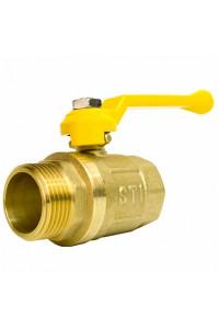 Кран шаровой газовый STI ШГ рычаг 25