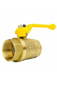 Кран шаровой газовый STI ГГ рычаг 25