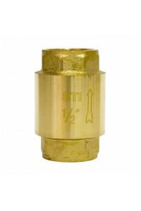 Клапан обратный пружинный STI 15 (латунное уплотнение)