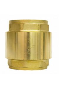 Клапан обратный пружинный STI 50 (латунное уплотнение)