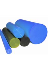 Полиуретан стержень Ф 100 мм (L=500 мм, ~4,6 кг, жёлтый)