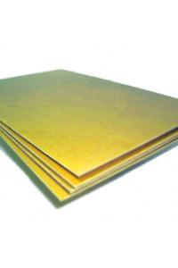 Стеклотекстолит СТЭФ 0,5 мм (~980х1980 мм) 1 сорт